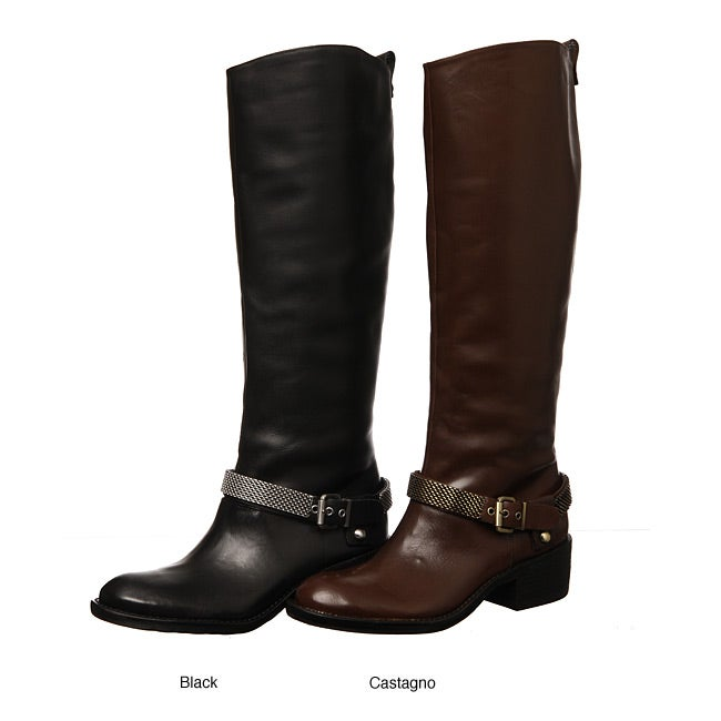 BCBGeneration Women's 'Alender' Leather Riding Boots
