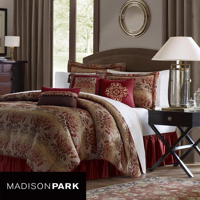 Madison Park Sunset 7-piece Queen-size Comforter Set