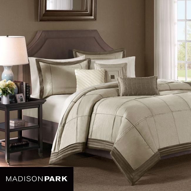 Madison Park Cascade 7-piece Queen-size Comforter Set