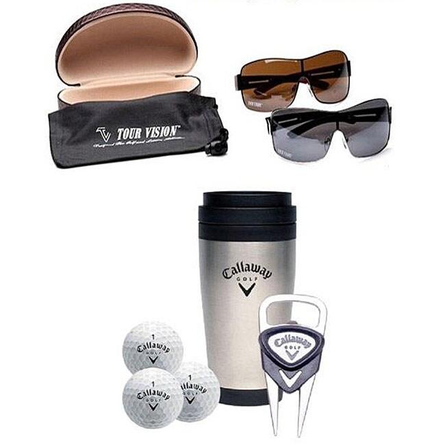Callaway Coffee Mug Set/ Tour Vision 2011 HD Sunglass Set