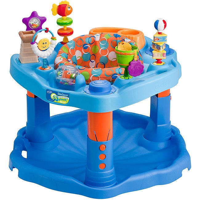 Evenflo ExerSaucer Splash Active Learning Center - Thumbnail 0
