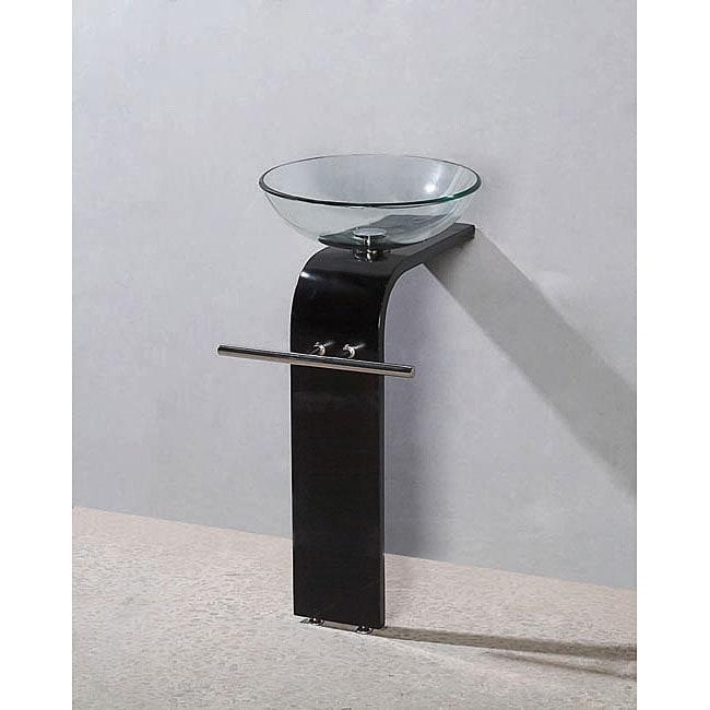 Aquarius Modern Solid Wood Bathroom Vanity