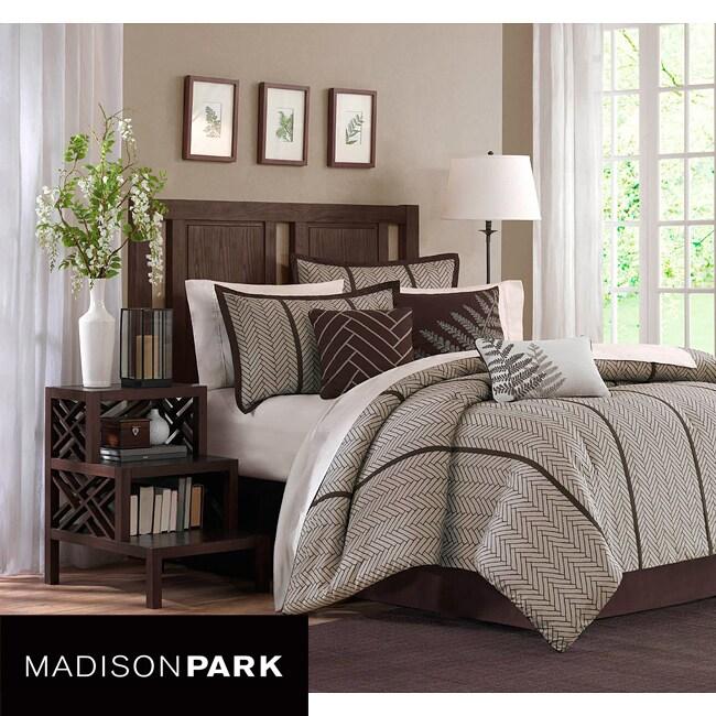 Madison Park Bainbridge 7-piece Comforter Set