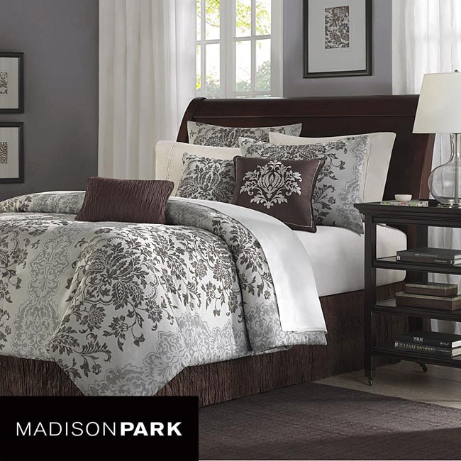 Madison Park Carrington 7-piece Queen-size Comforter Set