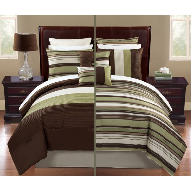 Regatta 12-piece Bed in a Bag with Sheet Set