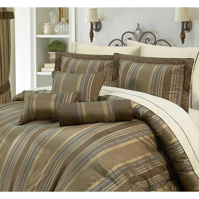 Kingston 7-piece Queen-size Comforter Set