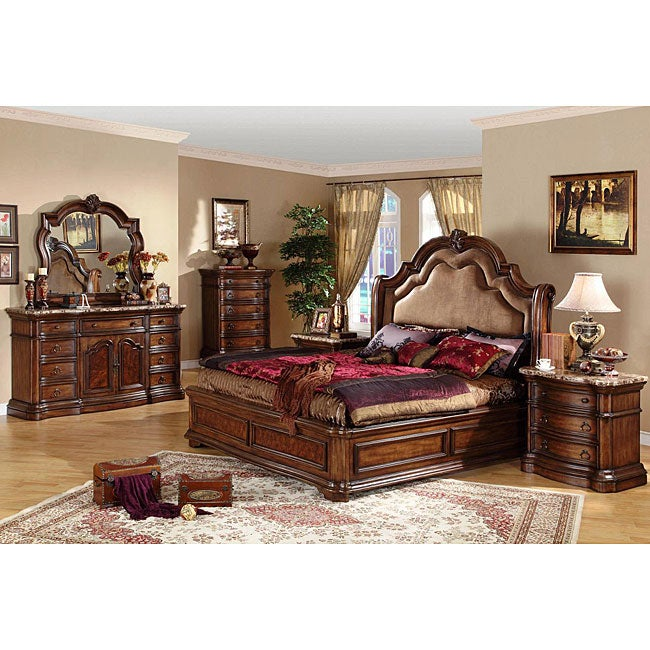 San Marino 5 piece California King size Bedroom Set Free