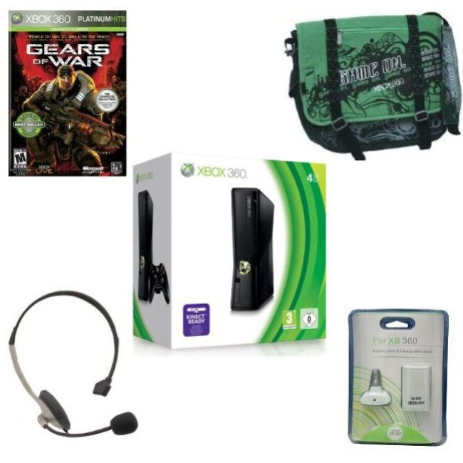 Microsoft Xbox 360 Action Holiday Bundle