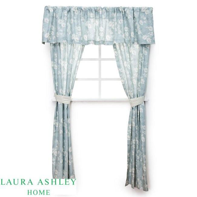 Laura Ashley Sophia 5-piece Window Treatment Set