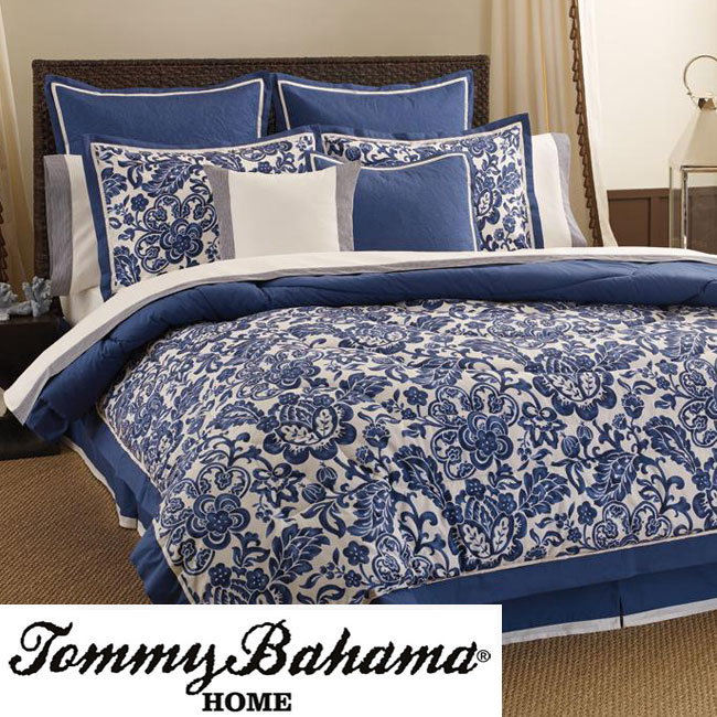 Tommy Bahama Colonial Hill King-size Comforter Set