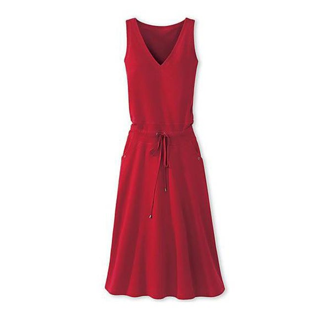 Shop Spiegel Womens Plus Size Knit Drawstring Waist Dress Free