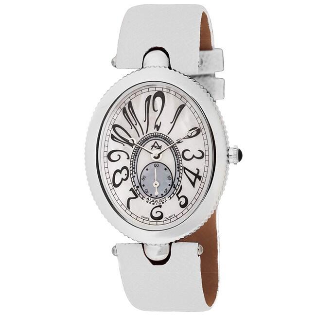 August Steiner Women's Eternity Swiss Quartz Strap Watch