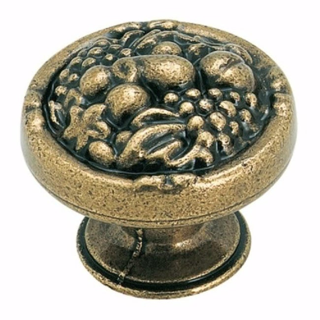 Amerock Burnished Brass Fruit Knobs Pack Of 10 Free