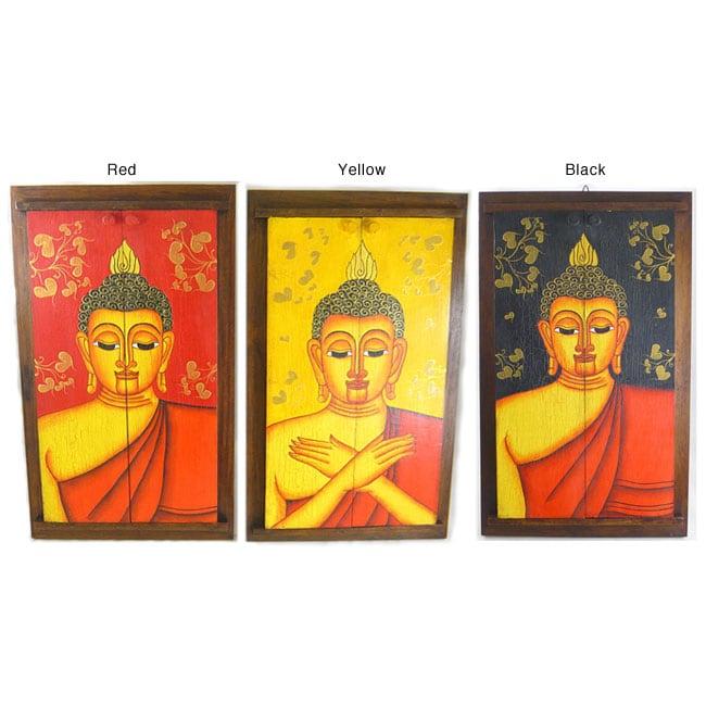 Handmade Buddha Face and Mirror (Thailand)