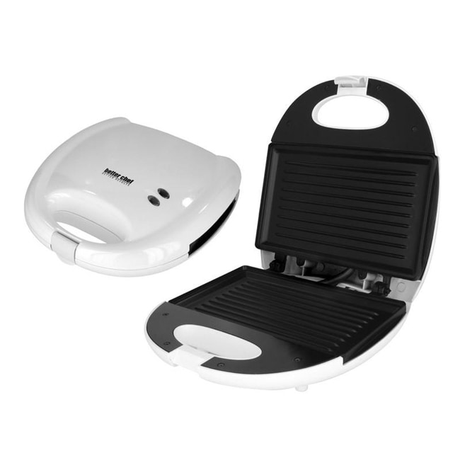 Better Chef IM-285W White Contact Grill Sandwich Maker