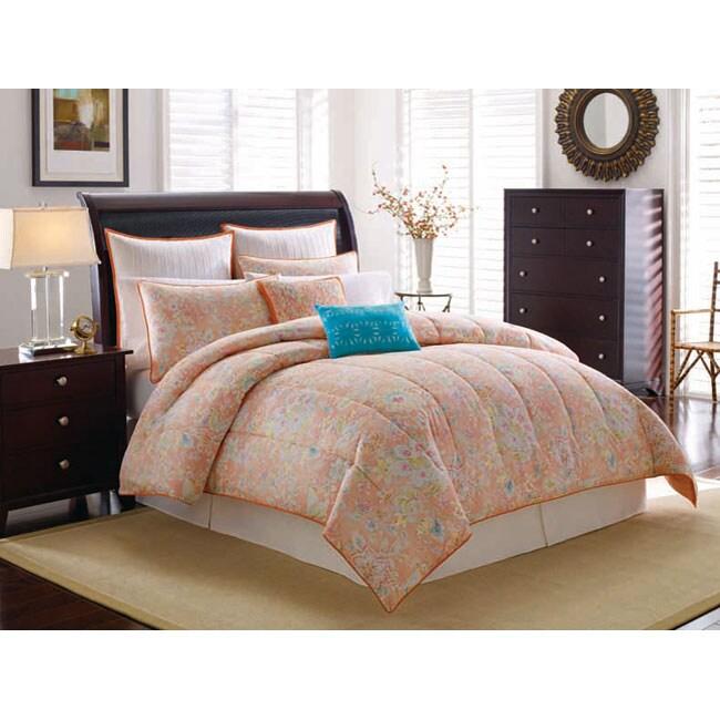 Calypso 4-piece Queen-size Comforter Set