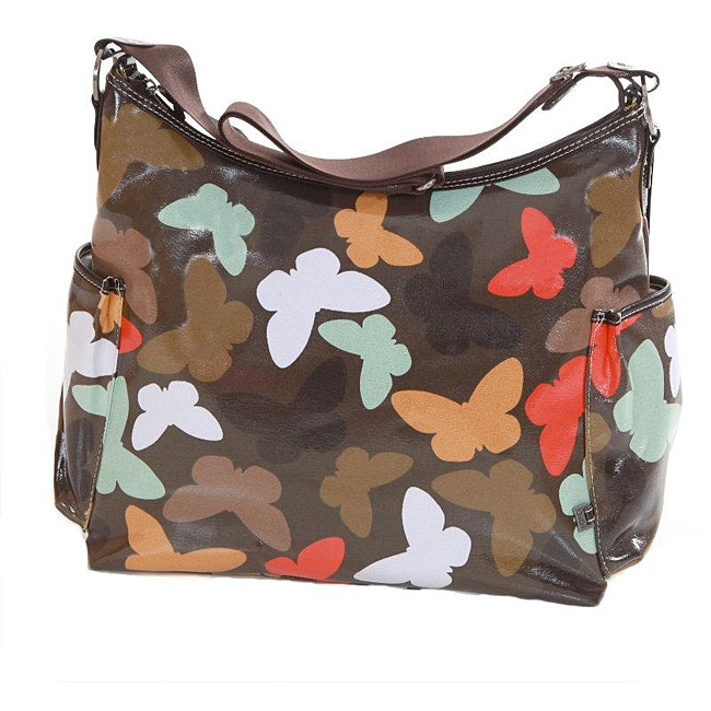 OiOi Butterfly Hobo Diaper Bag