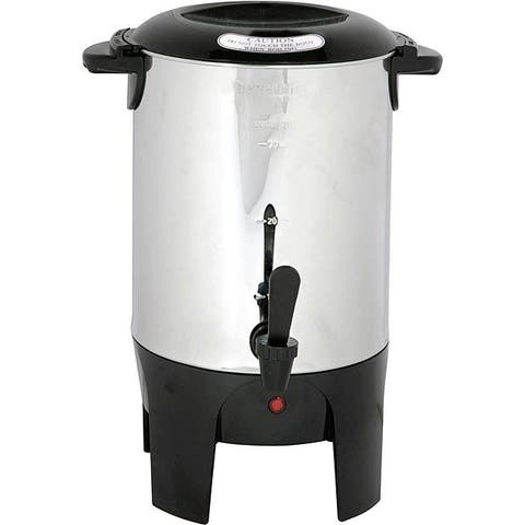 Better Chef Large Capacity 10-50-cup Coffee Maker Urn