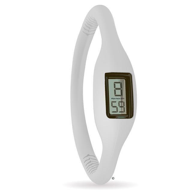 Esso Men's/ Women's Rubber White Watch
