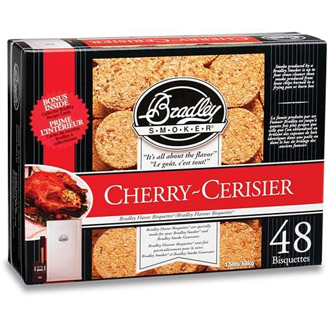 Bradley Smoker Cherry Bisquettes (Case of 48)