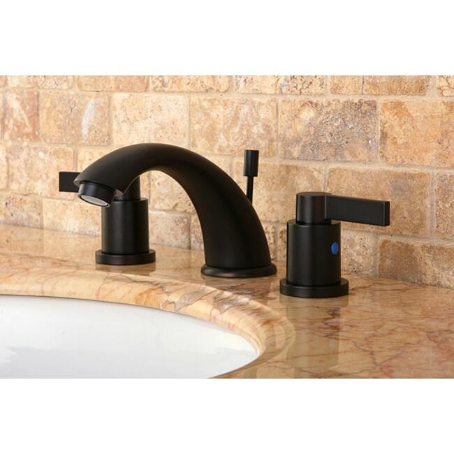 shop nuvofusion oil rubbed bronze widespread bathroom