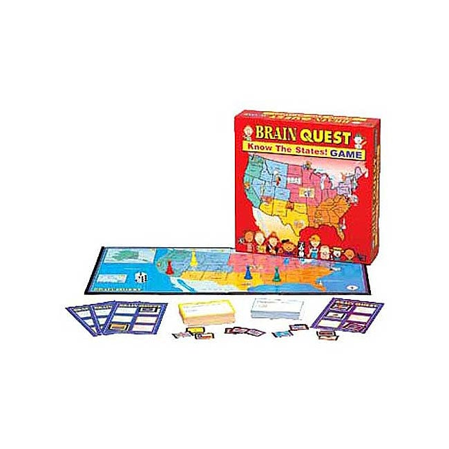 Brain Quest: Know the States  Geography Game