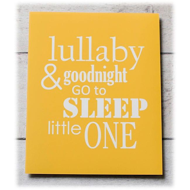 Trendography Prints  'Sleep Little One' Graphic Art Print