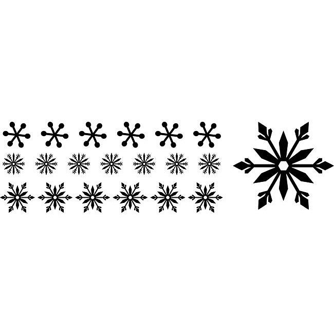 Clearsnap Double-sided 'Memory Box Flurries' Adhesive Stickers