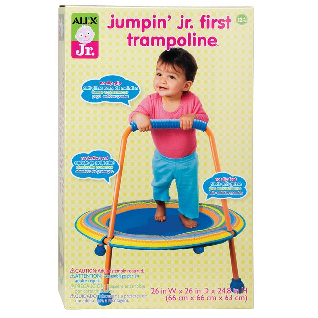 Jumpin Jr First Trampoline Free Shipping Today