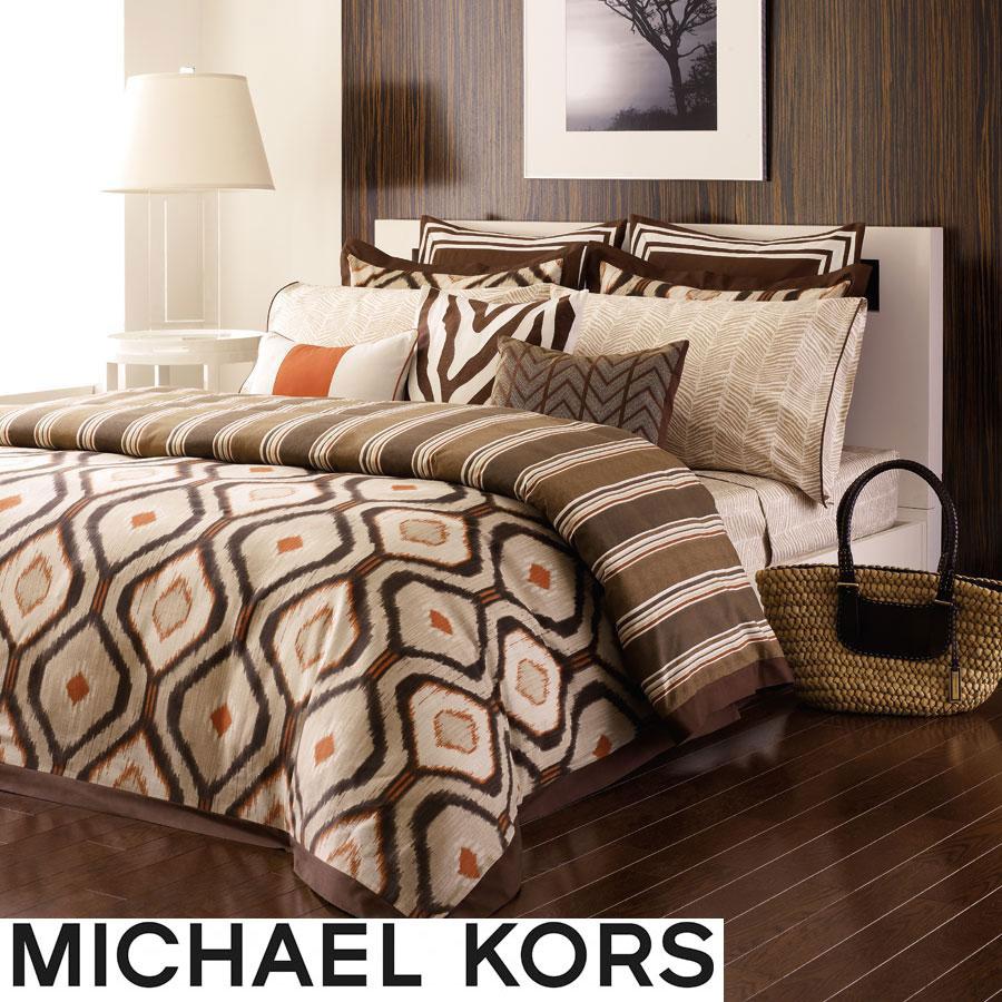 Michael Kors Serengeti 3 Piece King Size Comforter Set
