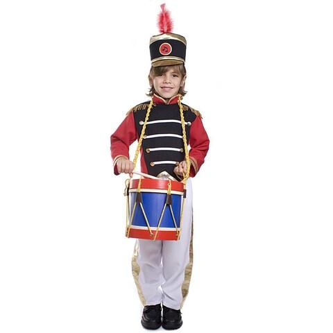 Dress Up America Boy's 3-piece Drum Major Costume