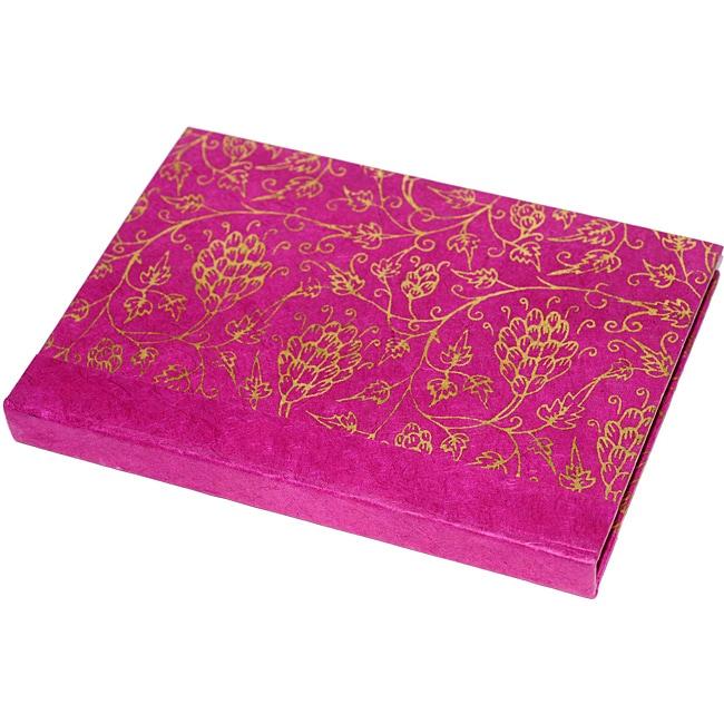 Lokta Paper Red Magical Journal (Nepal)