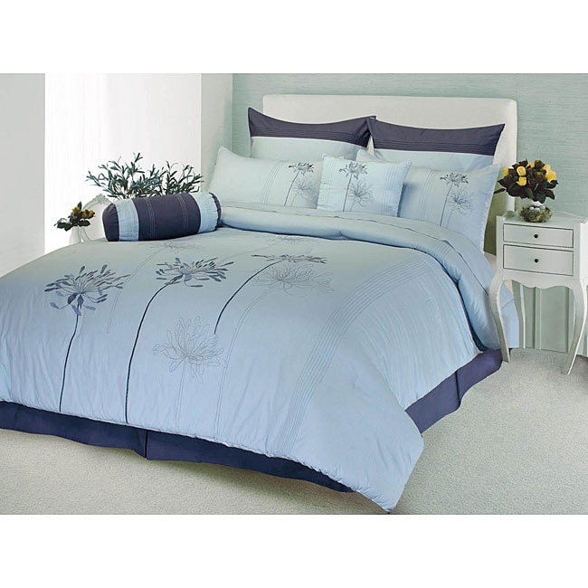 Veronica 8-piece King-size Comforter Set