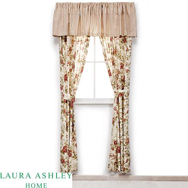 Laura Ashley Glenmore 84-inch 5-piece Window Treatment Set