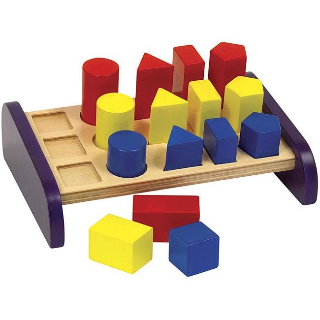 Guidecraft 3 in a Row Sorter Activity Set