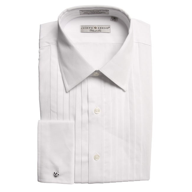 a8a789c93cfc Shop Joseph Abboud Men's Pleated French Cuff Formal Shirt - Free Shipping  On Orders Over $45 - Overstock - 5538288