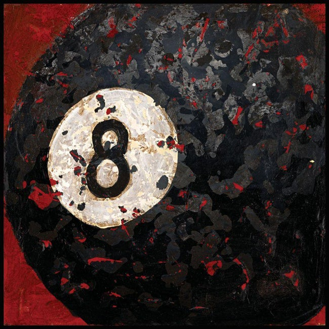 Aaron Christensen '8 Ball' Gallery-wrapped Canvas Art