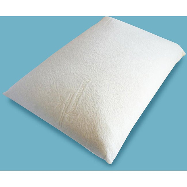 Viscorelax Plant Based Memory Foam Pillow with Bamboo Cover
