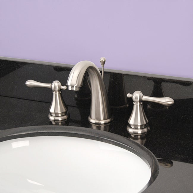 Fontaine Amalfi 8-inch Widespread Brushed Nickel Bathroom Faucet ...