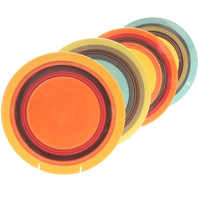 Certified International Sedona 11.25-inch Dinner Plates (Pack of 4)