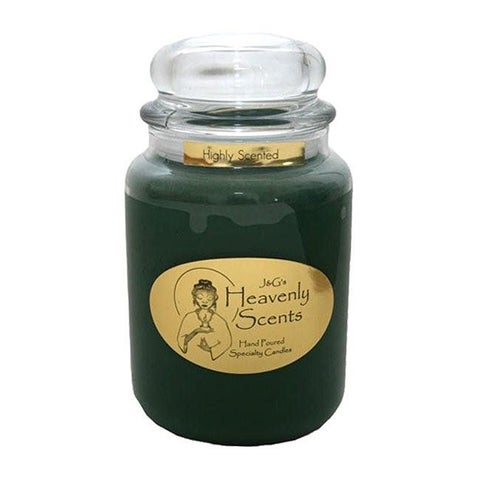 J & G's Heavenly Scents 26-oz Evergreen Mulberry Candle