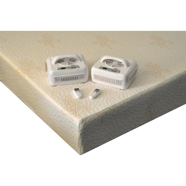 Comfort Code Legacy Temperature-controlled Dual Queen-size Memory Foam Mattress