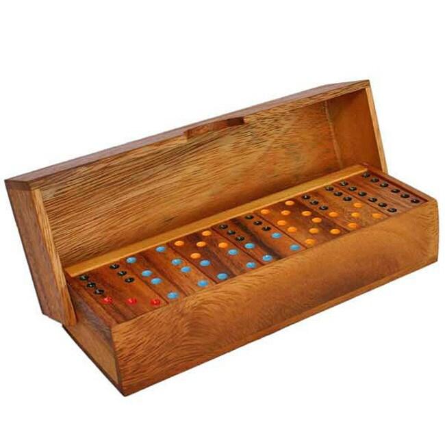 Wood Dominoes Game (Thailand)