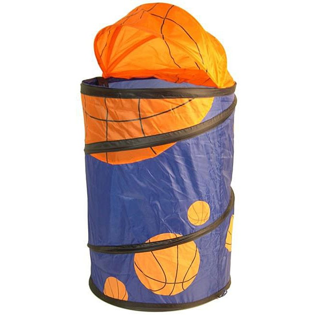 Collapsible Basketball Hamper - Free Shipping On Orders ...