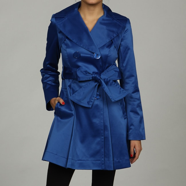 Jessica Simpson Women's Skirted Trench Coat
