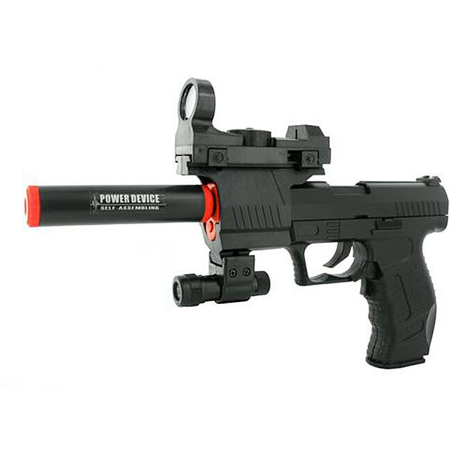 Electric Full Auto Tactical 2012A James Bond Airsoft Pistol