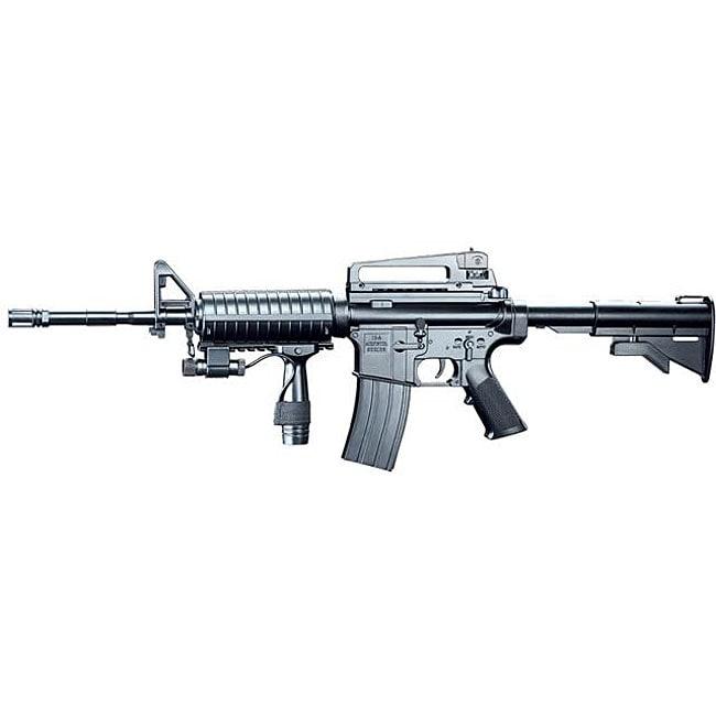 Spring M16A5 Assault Rifle Grip Collapsible Stock Airsoft Gun