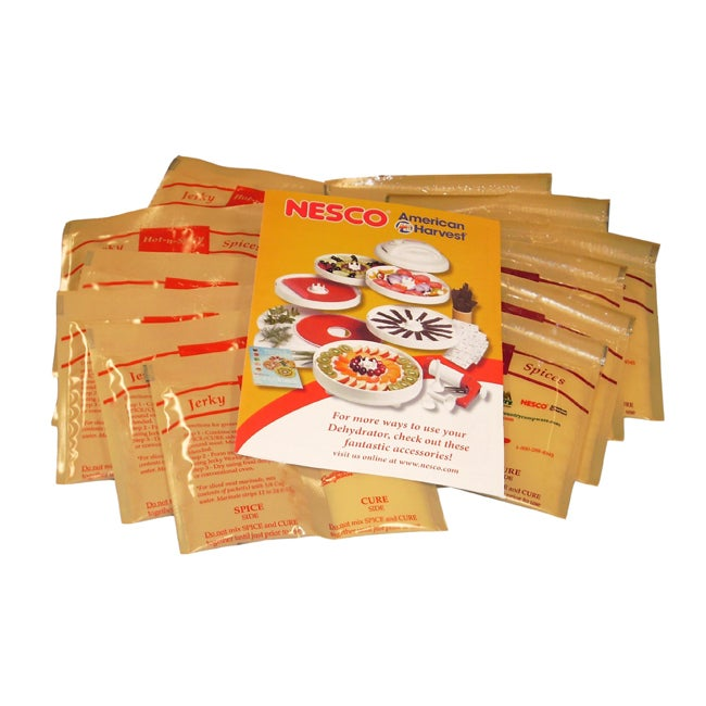 Nesco Jerky Spice Works Variety Seasoning Packs (Case of 24)
