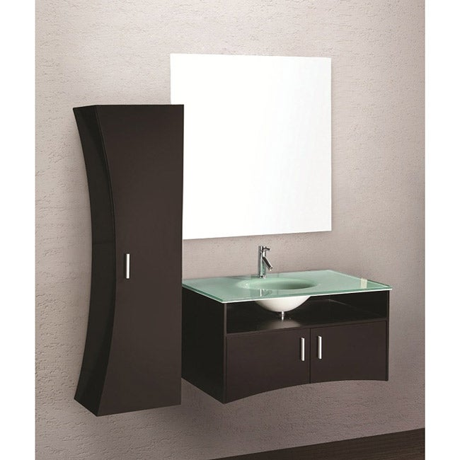 contemporary italian bathroom vanity set modern wall mount sink cabinet design element ultra huntington