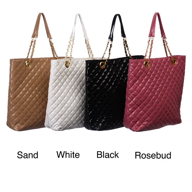 Del Cesca Quilted Tote
